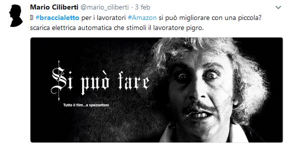 Screen Twitter Amazon Braccialetto