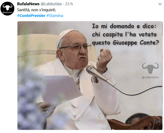 curriculum vitae di Conte